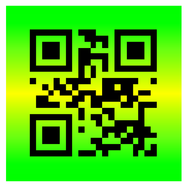 Have A Great Day QR Code® design.
